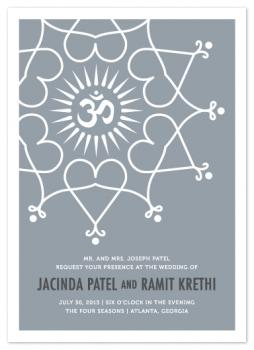 Rangoli Love Wedding Invitations