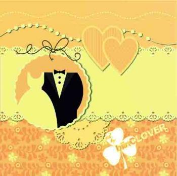 silhoute wedding