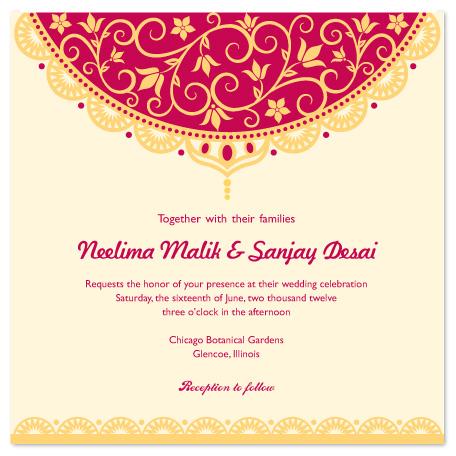 Burgundy Wedding Invitations with adorable invitation layout