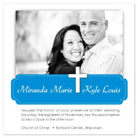 wedding invitations - Christian Love by Krista Eitsert