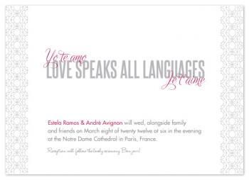 Love Speaks All Languages