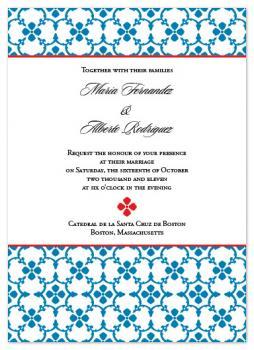 Talavera Wedding Invitations