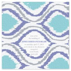 Ikat Inspiration Wedding Invitations
