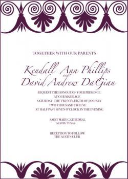 Deco  Wedding Invitations