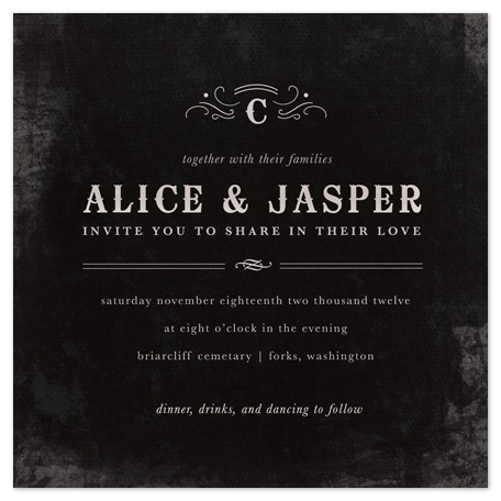 wedding invitations - After Sunset by Kristen Smith