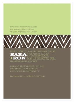 Rosemary HIll Wedding Invitations
