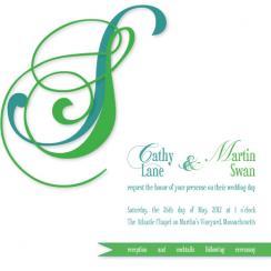 Cape Formal Wedding Invitations