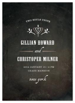 Soulmate Wedding Invitations