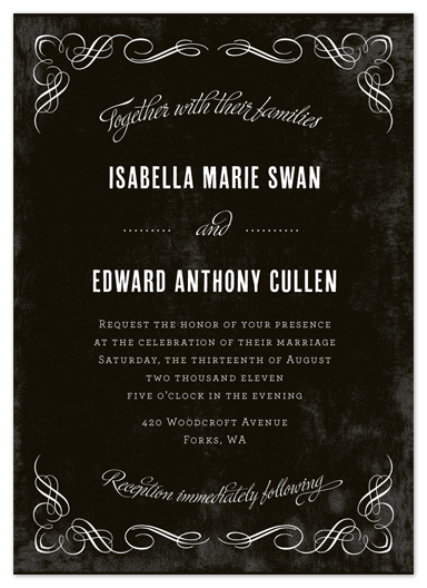 wedding invitations - Eternal Love by Paper Dahlia