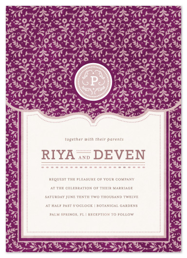 wedding invitations - Aureate by Kristen Smith