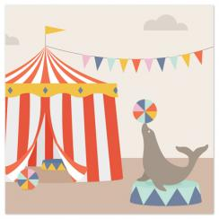 Day at the Circus Art Prints