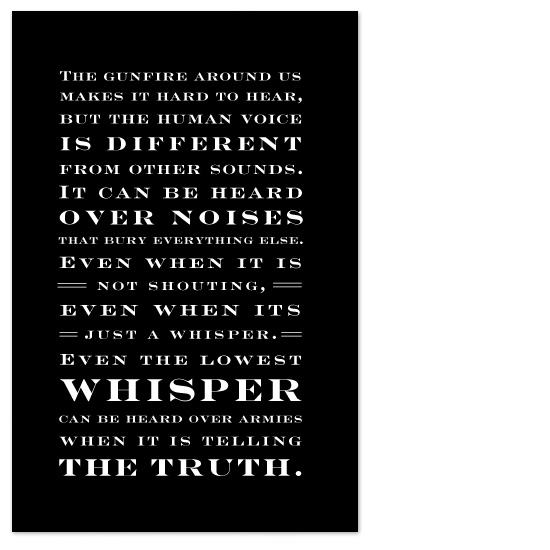 art prints - Power of the Truth by Janelle Otsuki