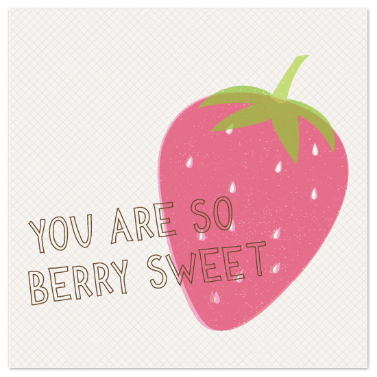 art prints - So Berry Sweet by Amber Barkley