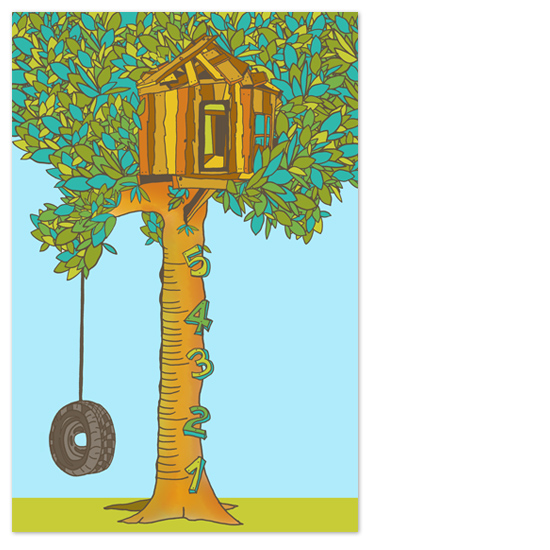 art prints - The Growing Tree by Snapdragon Design Co.