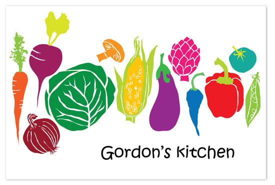 art prints - vegetable kitchen by Valley design