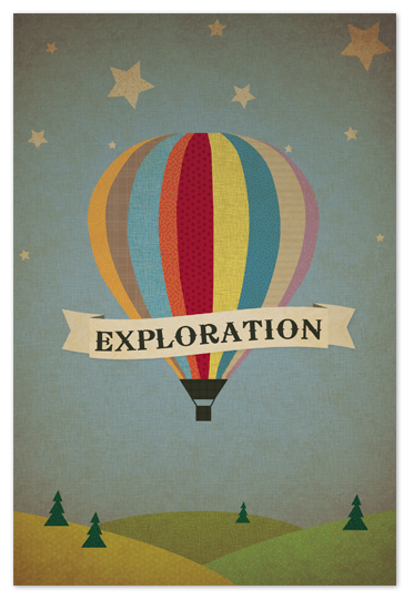 art prints - Exploration Destination by Serenity Avenue