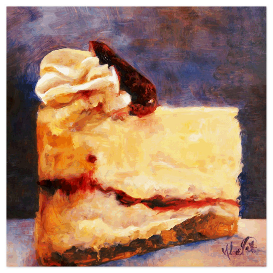art prints - Cheesecake by Tate Design