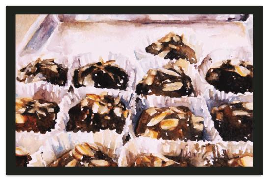 art prints - Chocolate Dream by Tate Design