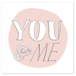 You and Me Art Prints