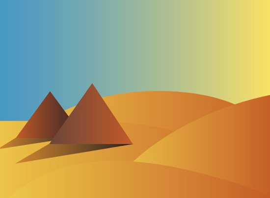 art prints - Pyramids by Sheri Denk