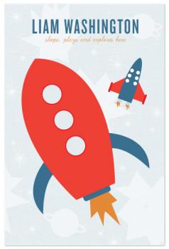 Rocket Art Prints