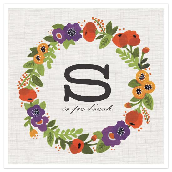 design - Garden Wreath by Kristen Smith