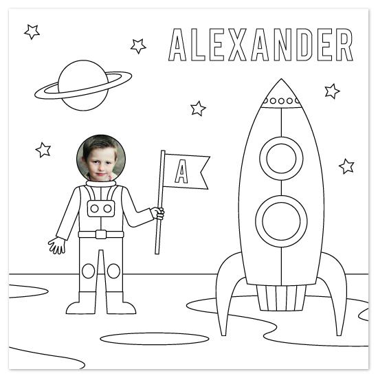 art prints - Space Explorer by Amber Barkley