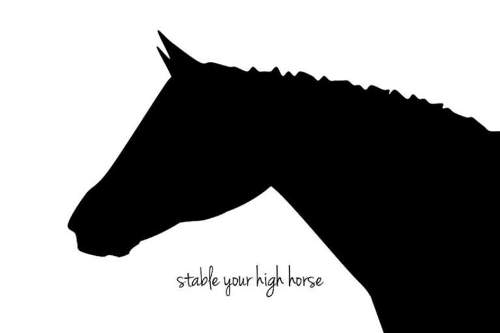 art prints - Stable Your High Horse by Fish Feather