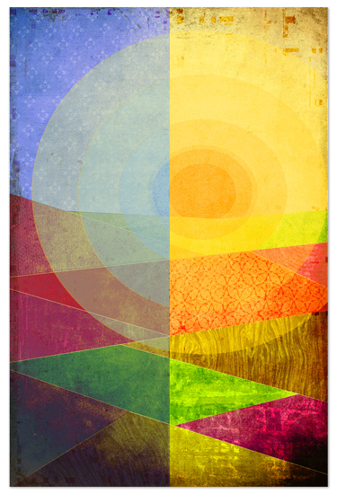 art prints - The Quilted Plains by Jane Colvin