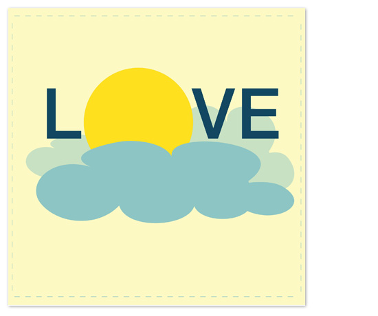 art prints - Love In the Clouds by Seven Design Boutique