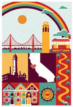 I Heart San Fran Art Prints