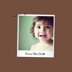 Baby Polaroid Art Prints
