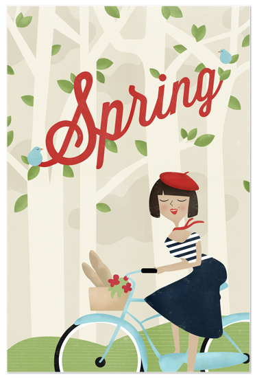 art prints - Le Printemps by Pistols