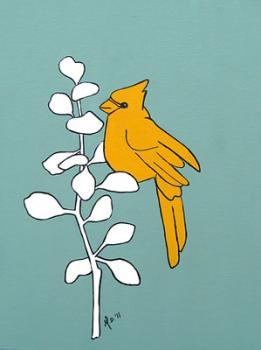Yellow Jay Art Prints