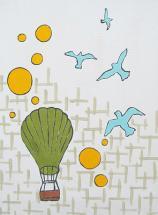 Air Balloon Flight by Melanie Daily