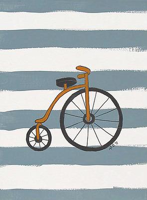 art prints - Lonely Bike by Melanie Daily
