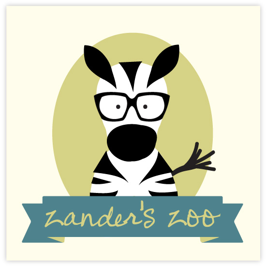 art prints - Zanders Zoo by feb10 design