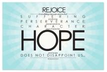 Rejoice in Hope by Napkin Rings and Elephant Ears