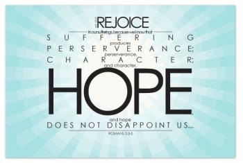 Rejoice in Hope Art Prints