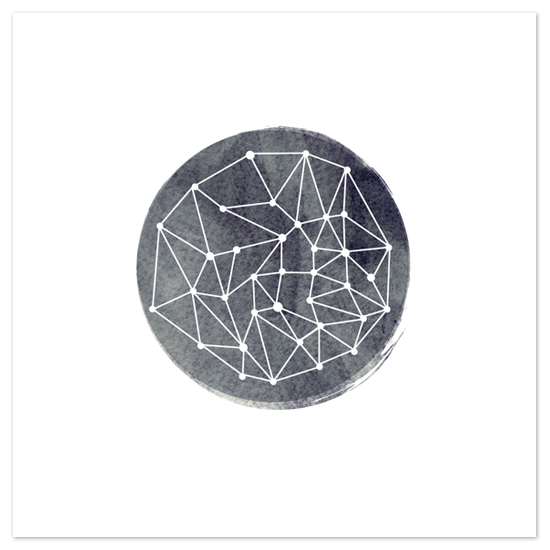 art prints - constellation by annie clark