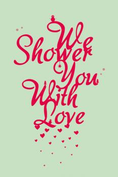 Shower of love Art Prints
