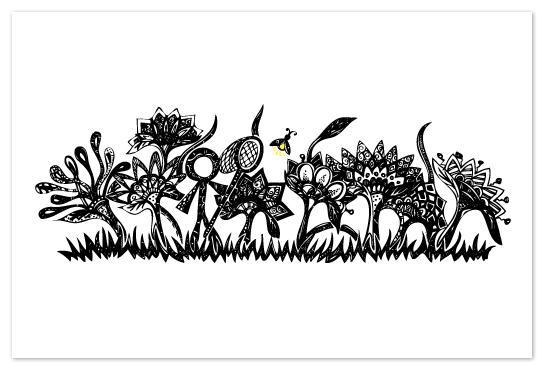 art prints - Lightning Bugs by ArtSplott