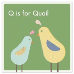 Alphabet: Q Art Prints