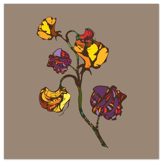 art prints - Wonderland Flowers by Raybo Design