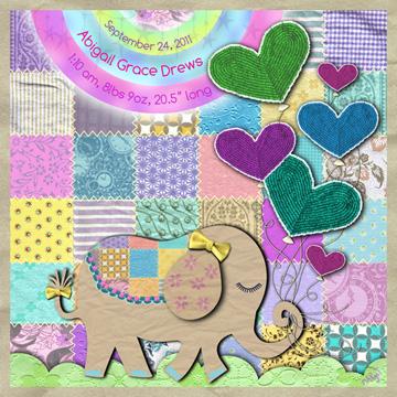 art prints - Sweet Elephant  by Margot Miller