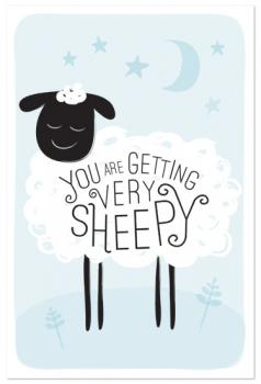 Counting Sheep Art Prints