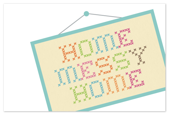 art prints - Home Messy Home by Ana Gonzalez