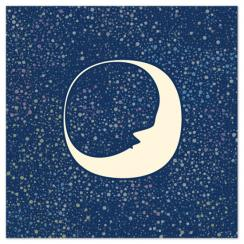 Celestial Moon Art Prints