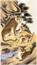 Tiger family by Kumoak Rang