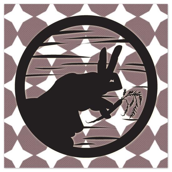 art prints - Rabbit at Night by Christie Au